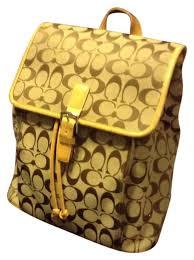 ... coach backpack. coach signature classic backpack