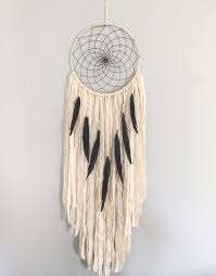 Dream Catcher Without Feathers Large Dream Catcher Large White Dream Catcher with Black 17