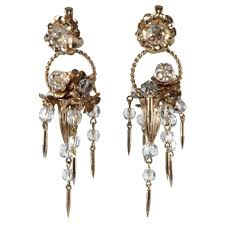 costume jewelry chandelier earrings and 38 best napier images on vintage with 736x736px