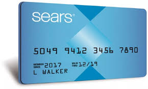 how to login sears credit card