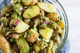 herbed dijon mustard potato salad
