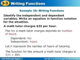 independent variables examples math example independent variable simple definition math