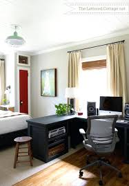 small office in bedroom. Home Office In Bedroom Small Guest Room Ideas Photo Of Fine Images About