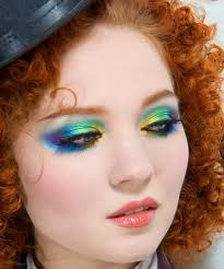 over the rainbow makeup tutorial doe deere azine
