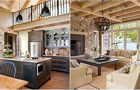 Barn Interior Design Extraordinary Cottage Style Homes Interior Cozy Decorating Ideas Room And