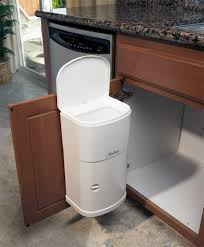 garbage door sink garbage can slider trash pull