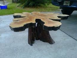 stumps for coffee tables tree stump for trunk table base hairpin led