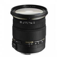 <b>Объектив Sigma AF 17-50mm</b> f/2.8 EX DC OS HSM Canon EF-S
