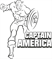 Super Heroes Coloring Pages Superhero Captain Coloring Pages Lego