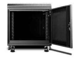 8u Wall Mount Cabinet 9u 900mm Depth Rack Mount Server Cabinet Black Monopricecom
