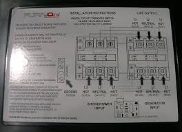 rv 50 amp transfer switch wiring rv image wiring 50 amp rv power transfer switch wiring diagram 50 auto wiring