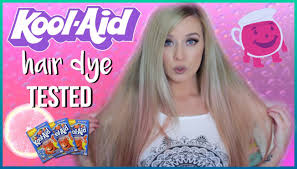 diy kool aid hair dye tested