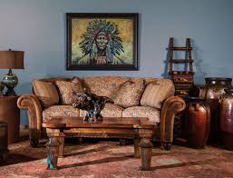 west bend furniture and design. Southwest Style Sofa, Western Upscale Furniture, Luxurious Furniture West Bend And Design
