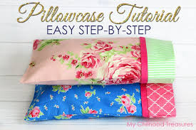 How Much Fabric To Make A Pillowcase New How To Make A Pillowcase Pillowcase Pattern In 32 Sizes TREASURIE