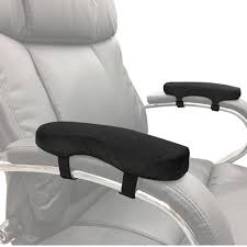 get ations memory foam soft chair arm pad velcro to existing armrest upgrade and protect your