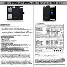 iphone 6 battery size magnetic detachable power battery wallet case 4200mah for iphone 6