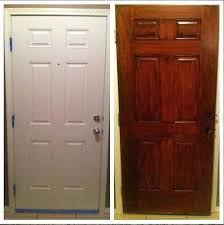 plain white interior doors. Plain White Door Gel Stain Did Wonders For Our  Is Available . Interior Doors W