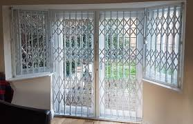 rsg1000 patio door security grilles securing family home in barnet