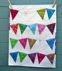 20 best Bunting quilts images on Pinterest | Buntings, Sewing ... & Pieced (not appliqued) bunting quilt. Adamdwight.com