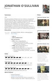 Camp Counselor Resume Samples Visualcv Resume Samples Database