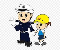 Graphic Design Office Custom Safety Cartoon Police Officer Graphic Design Cartoon Pretty Female