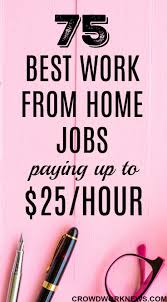 Easiest Online Jobs 75 Best Work From Home Jobs Hiring Now That Pay Up To 25 Hr