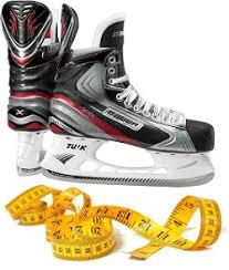 Bauer Skate Fit Chart How To Properly Fit Hockey Skates Hockey Skate Fitting Guide