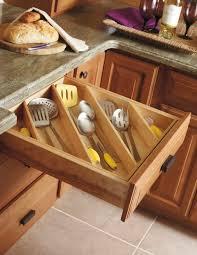 organizing the drawers