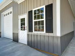 corrugated metal siding wainscoting galvanized wainscot panel plus