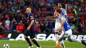 Барселона в последнем матче Иньесты на Камп Ноу победила Реал Сосьедад -  Футбол 24