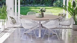 aro 9 piece outdoor dining setting