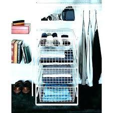 nursery closet featuring drawer kit floor organizer and 3 cube closetmaid shelftrack 4 instructions i