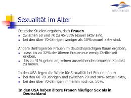 Sexuelle stimulation im alter