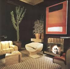 1970s interior design. The Blue Remembered Hills™: An Interior Dramatist · 1970s DecorVintage Design