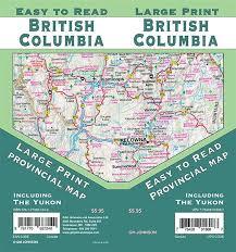 British Columbia Road Map