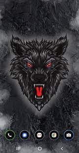 Black wolf live wallpaper with 3D ...