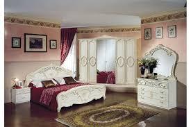 Italienisches Barock Schlafzimmer Rouza In Beige 6 Teilig