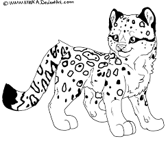 Leopard Coloring Page Disney Coloring Pages