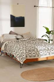 view in gallery black and white duvet cover from urban outfitters