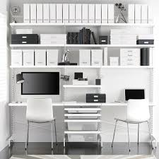 home office wall shelves. Best Kitchen Gallery: Office Shelves Wall Home Ideas The Container Store Of O