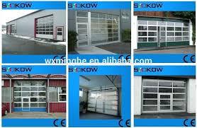 glass overhead doors sectional door glass garage with pedestrian access aluminum glass garage doors for