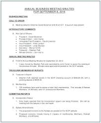 Corporate Meeting Minutes Form Shareholder Meeting Minutes Template For A Formal Sample