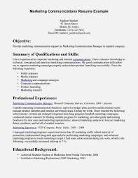 Delighted Corporate Communications Manager Resume Gallery