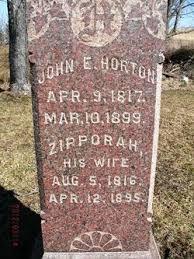 "Zipporah ""Zippy"" Bidlack Horton (1816-1895) - Find A Grave Memorial"