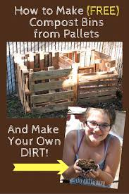 how to make a compost bin city girl farming how to make compost bins from pallets