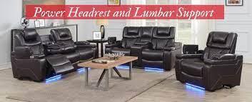 recliner sofas on power