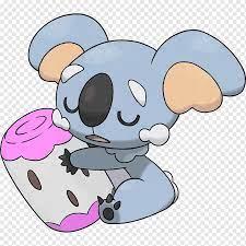 Pokémon Sun and Moon The Pokémon Company Komala Évolution des Pokémon, We  bare bears, mammal, carnivoran, dog Like Mammal png