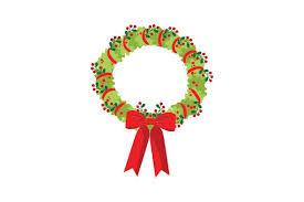 Christmas Wreath Svg Cut File By Creative Fabrica Crafts Creative Fabrica