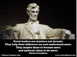 Famous Leadership Quotes Enchanting Famous Quotes On Leadership Famous Quotes