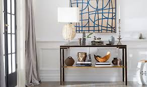 console table decor. How To Style A Console Like Pro Table Decor E